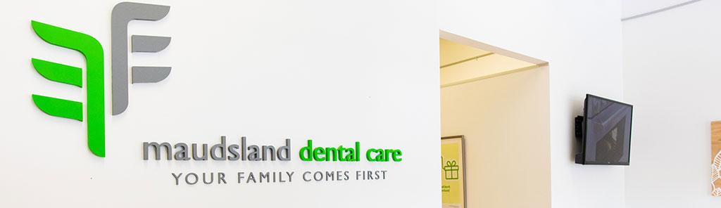 maudsland dental front office